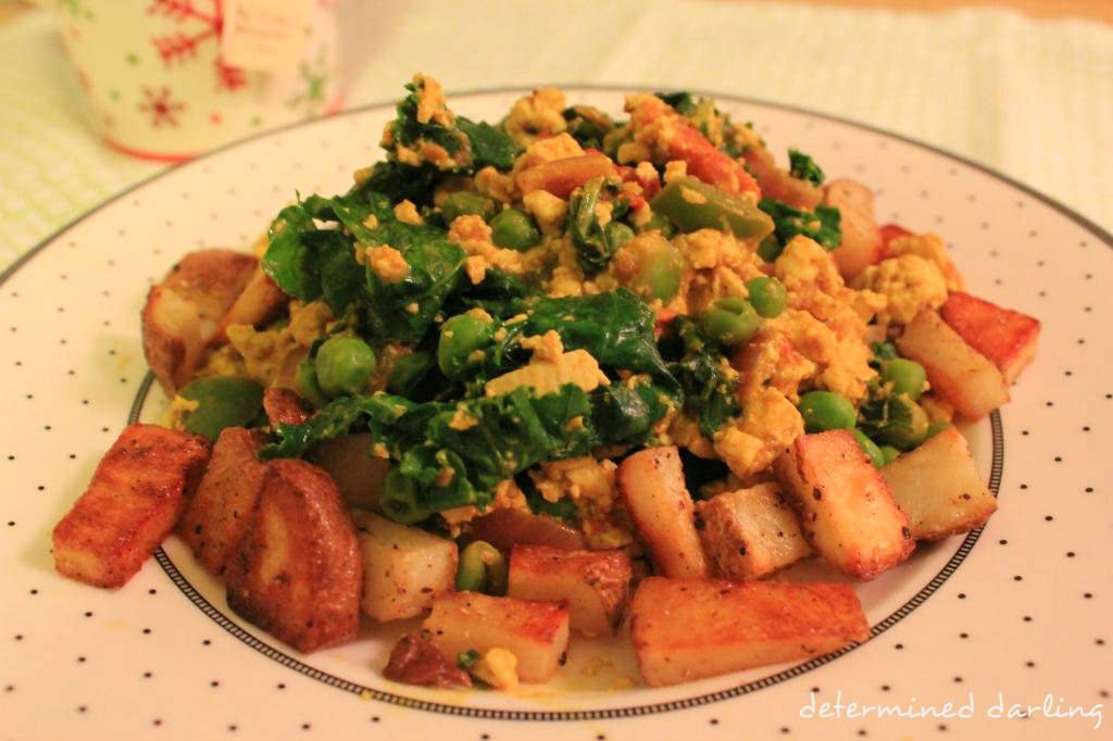 Christmas Scramble (GF, Vegan)
