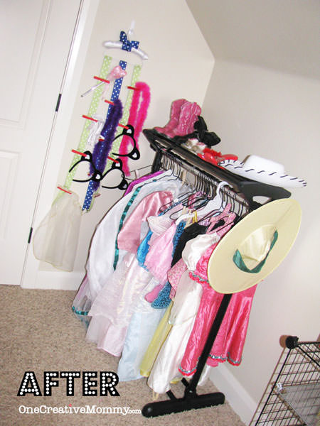 DIY Dress Up Storage Ideas for Kids