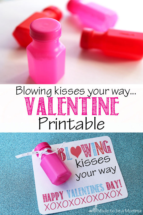 Bubbles Valentine Printables form Made to Be a Momma {Valentine Roundup on OneCreativeMommy.com}
